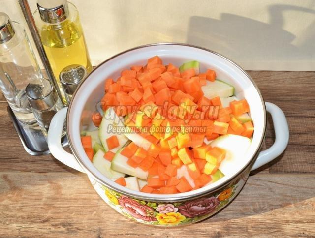 закуска с кабачками по-деревенски