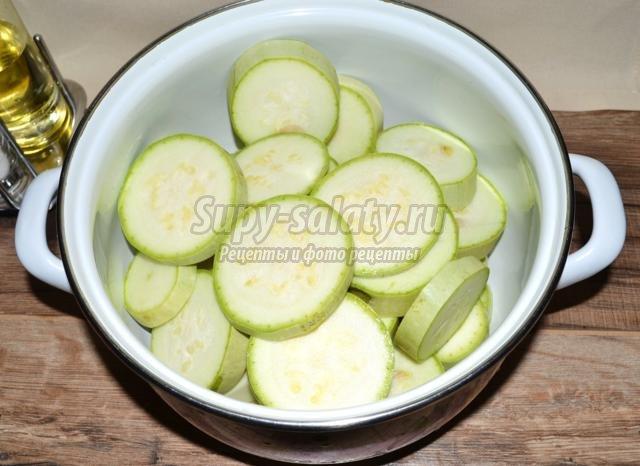 рецепт приготовления кабачков с картофелем