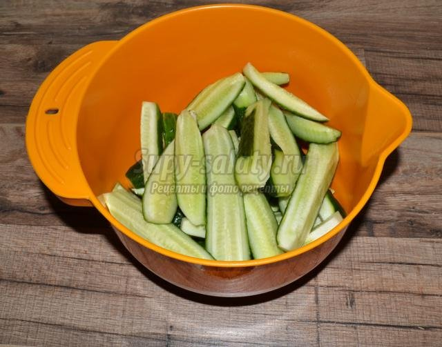 огурцы, маринованные с чесночком на зиму
