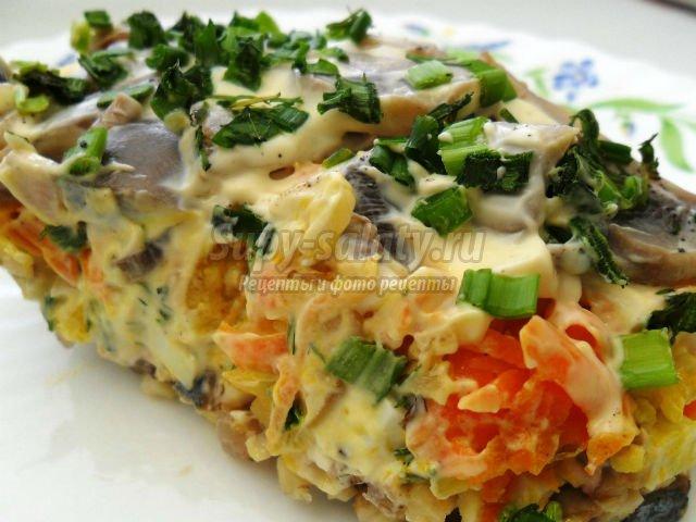 Модные салаты рецепты фото