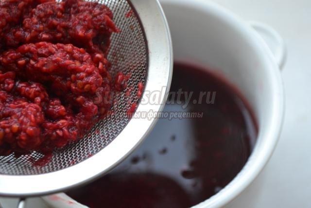Малиновый соус к мясу рецепт