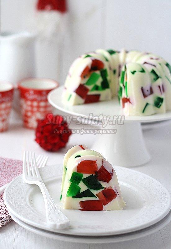 торт желейный фото