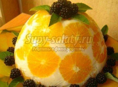 торт апельсины