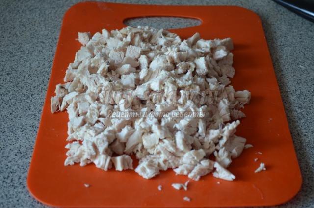 Салат белая береза рецепт с пошаговым