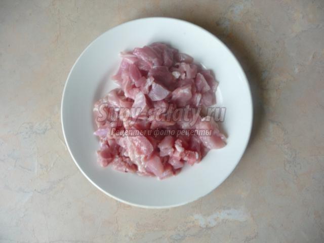 пирожки с капустой и мясом на творожном тесте