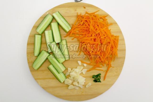 корейские огурцы. Лучшие рецепты с фото
