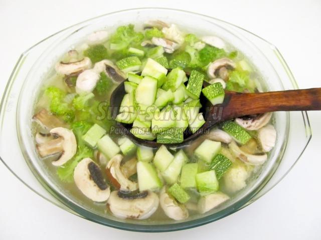 вегетарианский суп рецепт с перцем