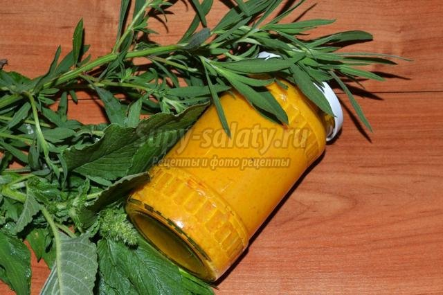 морковная икра с чесноком