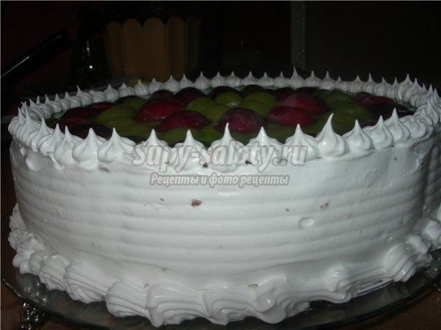 крем для бисквитного торта. Лучшие рецепты