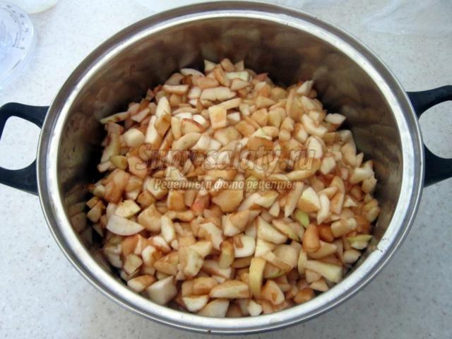 Варенье из яблок и черной смородины. Рецепт с пошаговыми фото