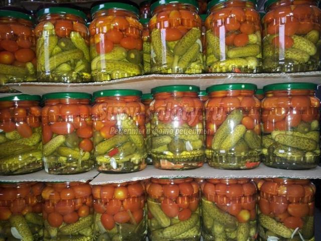 Ассорти овощное - рецепты