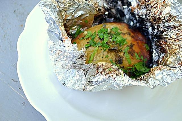 картофель с пломбиром