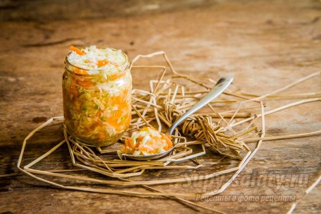 соленая капуста с овощами на зиму