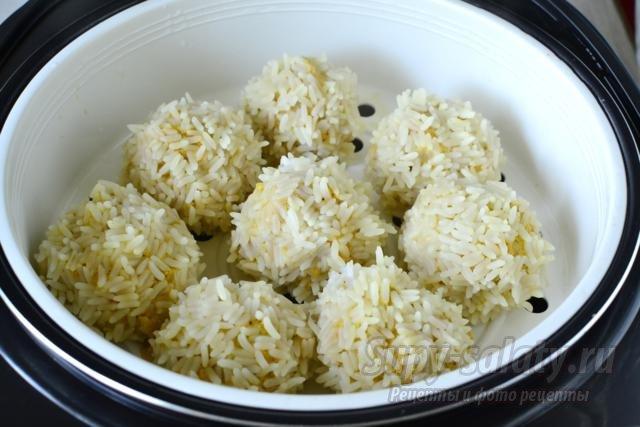 паровые котлеты с рисом в мультиварке рецепты