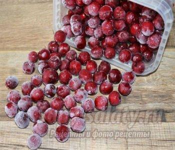 заморозка вишни на зиму