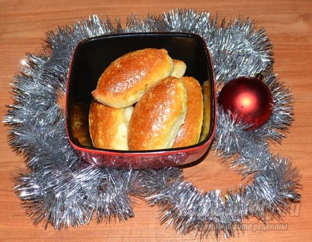 пирожки с капустой к Новому году