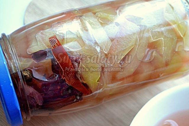 маринованные корки арбуза на зиму
