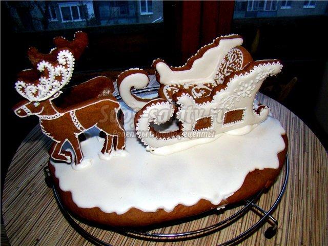 торты с оленями фото