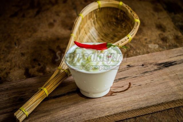 соус острый йогуртовый