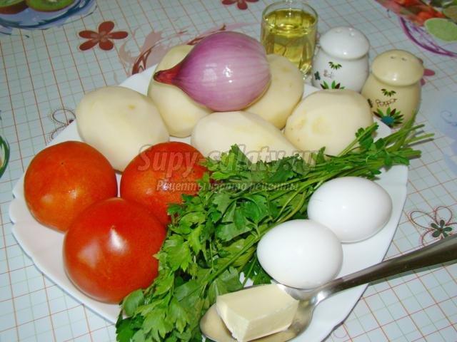 Картошка томате рецепт фото