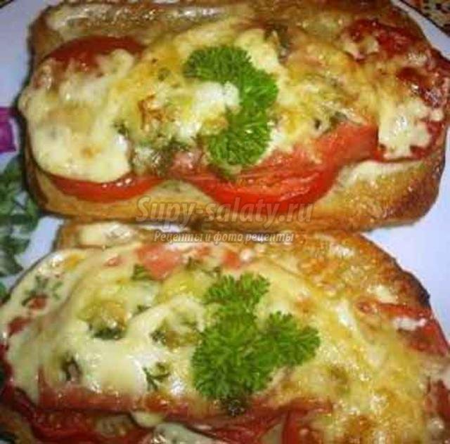 виды бутербродов из жареного батона рецепты