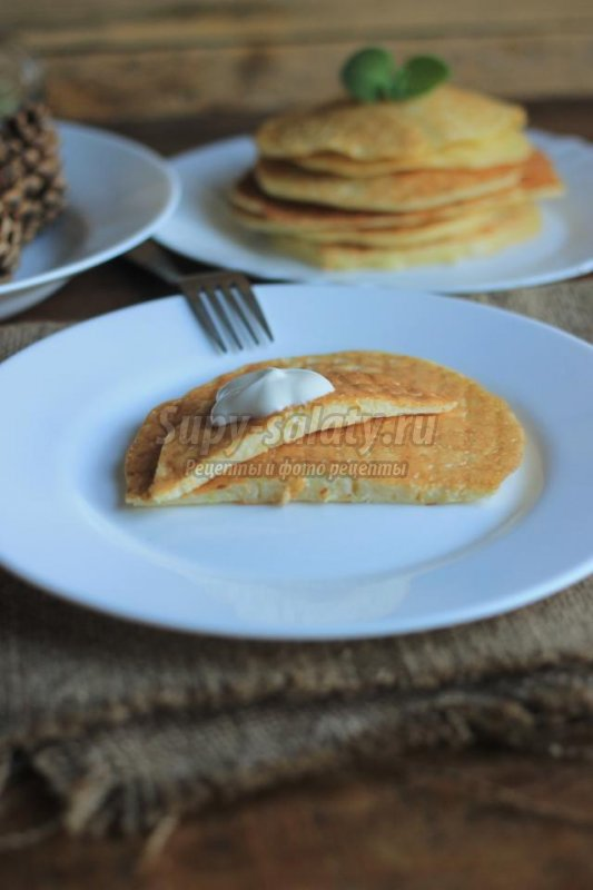 кабачковые блины: популярные рецепты с фото