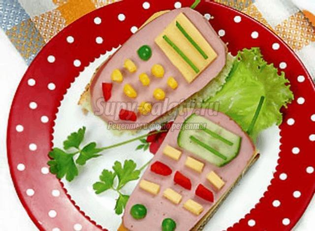 рецепты обедов быстро и вкусно бутерброды