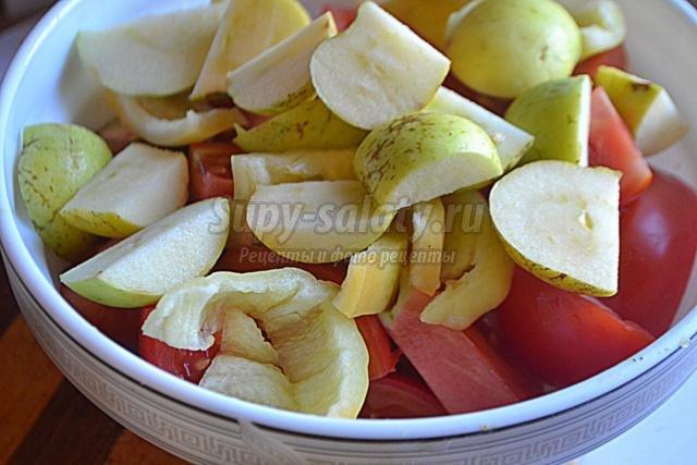 консервированные баклажаны в кисло-сладком соусе