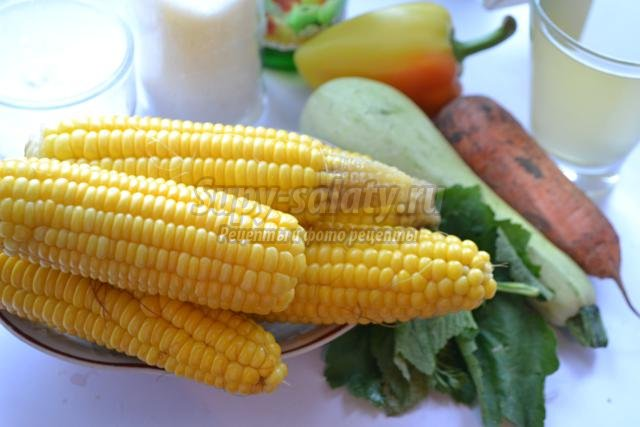 кукуруза на зиму. Лучшие рецепты с фото