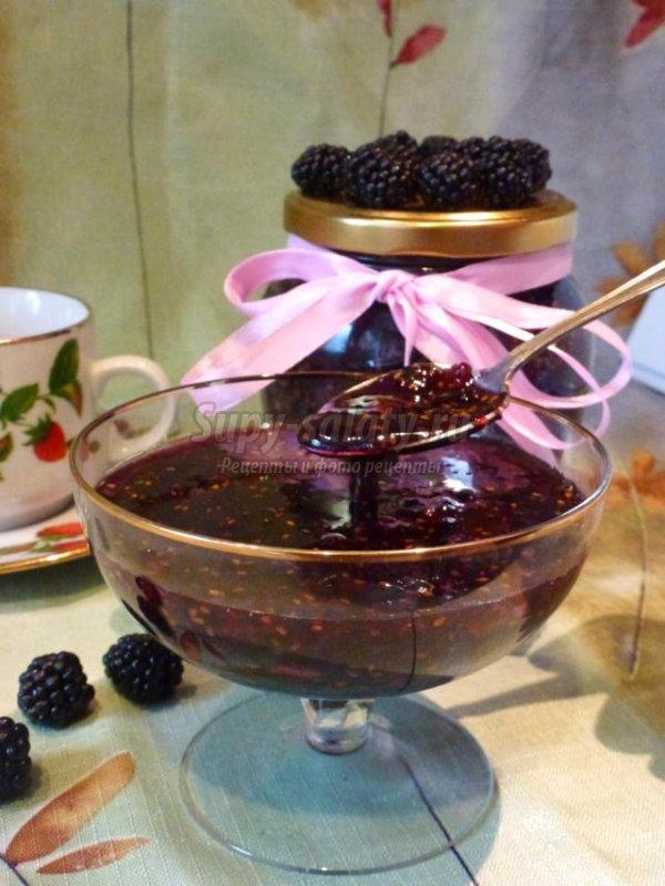 Сырое варенье из черной малины. Рецепт с пошаговыми фото