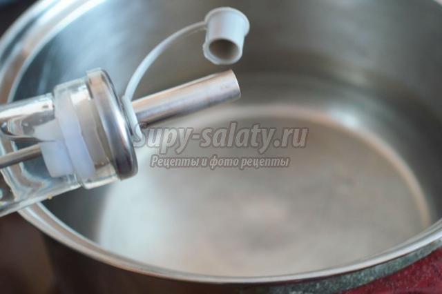 маринованная спаржевая фасоль на зиму