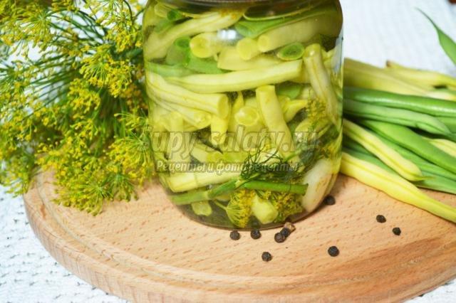 спаржевая фасоль по корейски рецепты