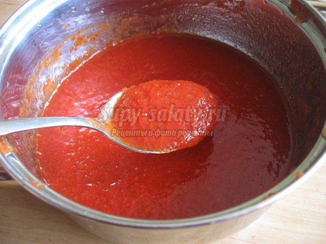 Томатный кетчуп в домашних условиях рецепт на зиму с пошаговым фото