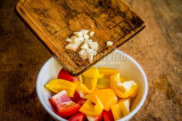 помидорная закуска с имбирем на зиму