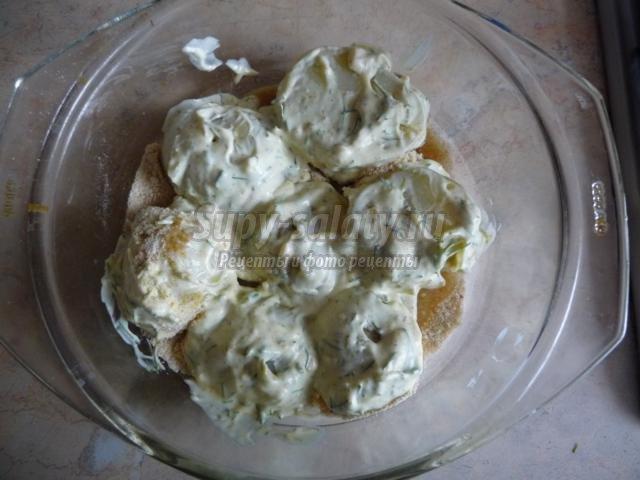 запеченная молодая картошка. Белорусочка
