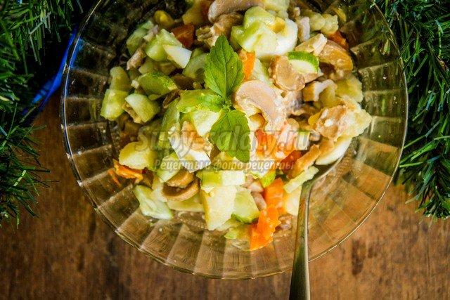 Вкусные и красивые салаты фото и рецепты