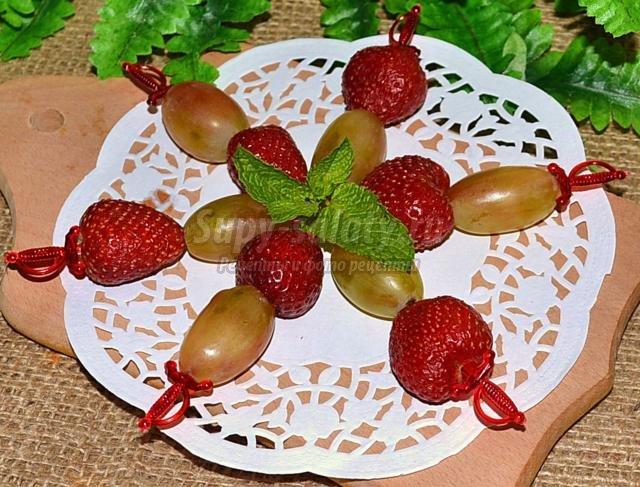 канапе из винограда рецепты с фото