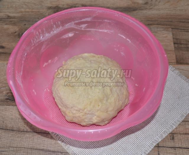 дрожжевой пирог оторвыш