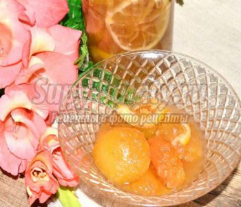 Яблочное варенье с лимоном. Рецепт с пошаговыми фото