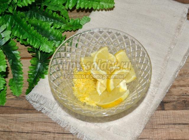 яблочное варенье с лимоном