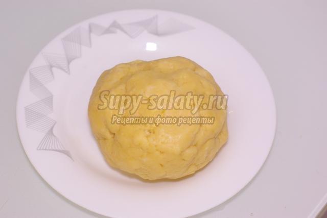 пирог с кабачками, помидорами и горошком