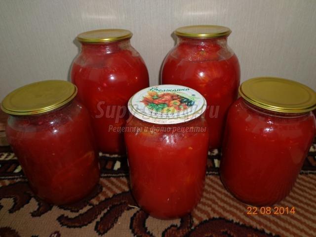 консервированные помидоры в собственном соку