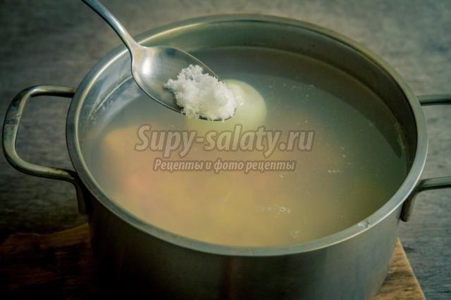 куриный суп диетический