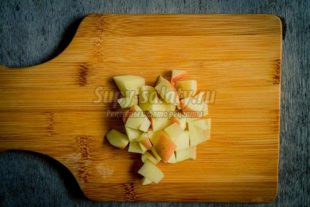 тыквенное варенье с яблоком и апельсином