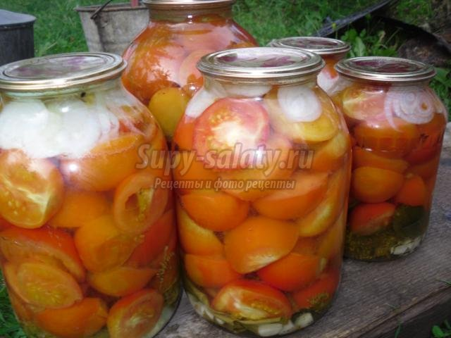 Маринованные помидоры рецепты пошагово