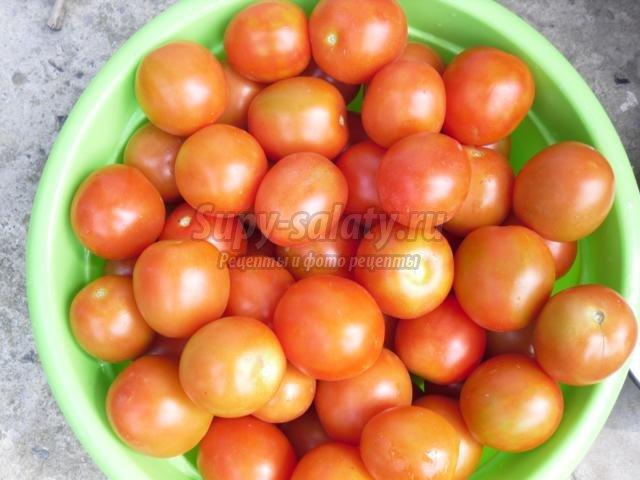 помидоры по грузински рецепт с фото