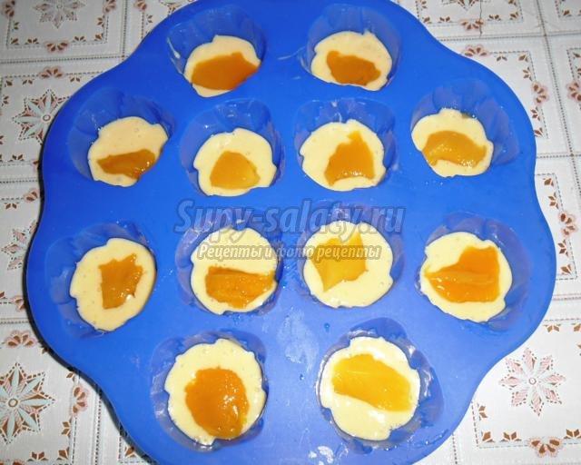 кексы с манго