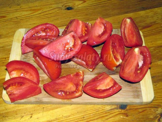 сырая аджика с персиками и сливами. Тётя Вася