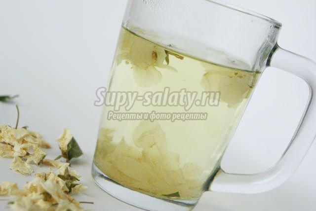 чай с жасмином: пошаговый рецепт