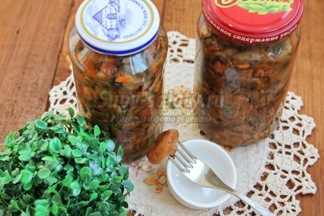 Соленые рыжики пошаговый рецепт с картинками